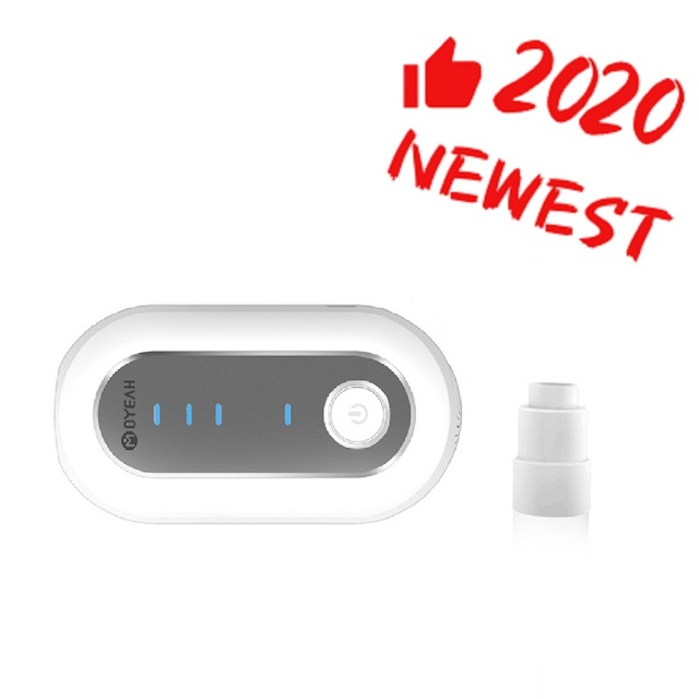 MOYEAH 2020 Newest Portable CPAP Cleaner and Sanitizer Disinfector with Heated Tube Adapter Connector For Cpap Machine Mask Hose