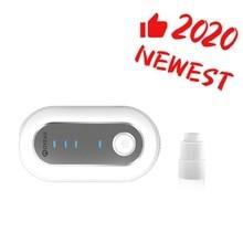 MOYEAH Draagbare CPAP Cleaner en Sanitizer Disinfector met Verwarmde Buis Adapter Connector Voor Cleaning Cpap Machine Masker Slang