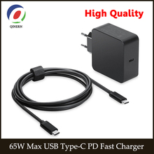 цена на 65W 45W 20V 3.25A USB c Type C PD Fast Charger Power Laptop Adapter for Macbook Pro 12 13 ,lenovo,Huawei,Matebook ,HP, DELL XPS,