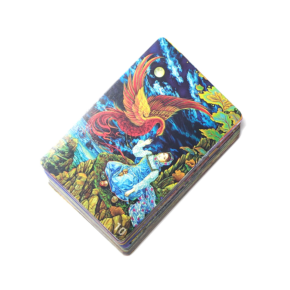 New DD-- mini Dixit cards game deck 10 freedom 78 cards for kids education toys home party fun board game(China)