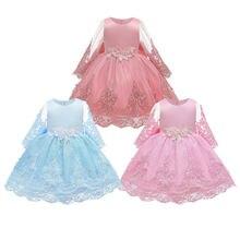Платья для маленьких девочек детская одежда бальное платье с