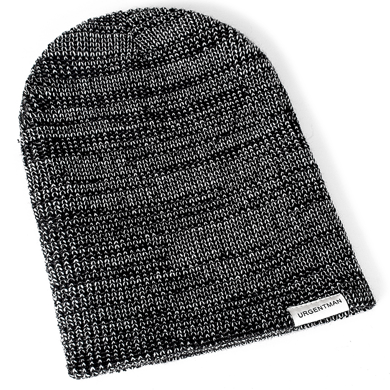 1 Pcs Unisex Hat URGENTMAN Casual Beanie For Men & Women Warm Soft Knitted Winter Hat Fashion Plain Daily Beanie Hat Crochet Cap 3