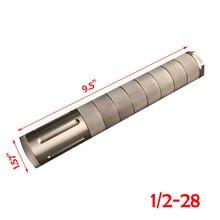 Gabarit en aluminium 1/2x28, piège à solvant en titane, filtre à carburant, moteur de voiture modulaire 9mm 5/8x24, 10 pouces