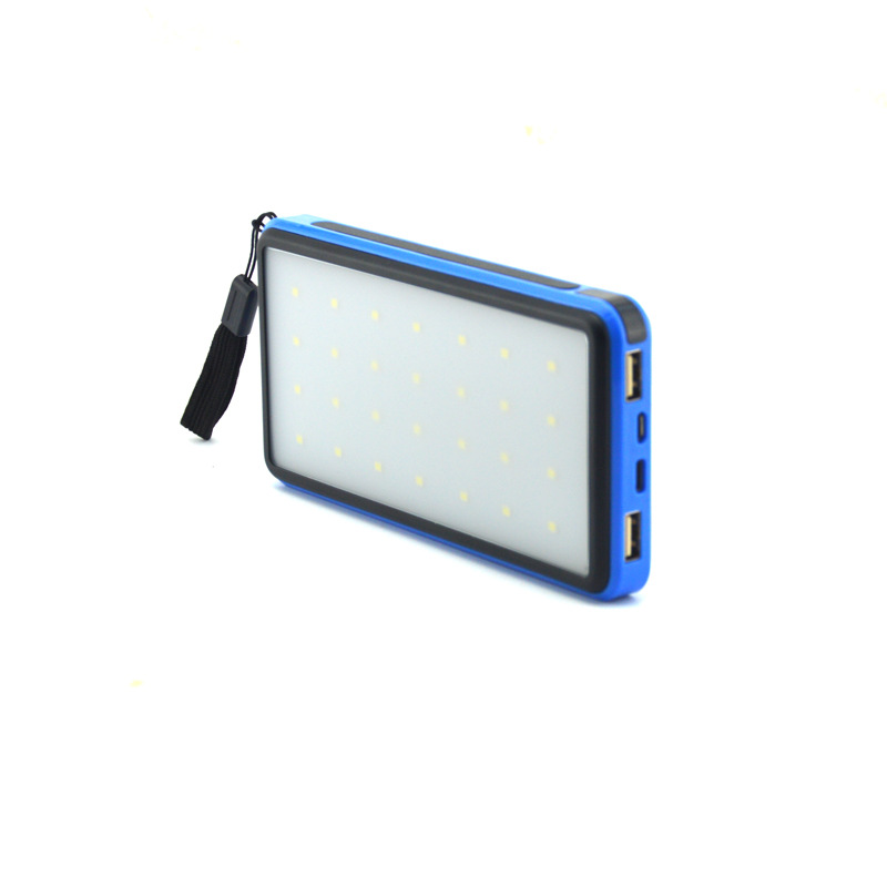 New Camping Lamp 20000 MA Mobile Power Camping Lamp Charging Portable Emergency Light Led Tent Lamp