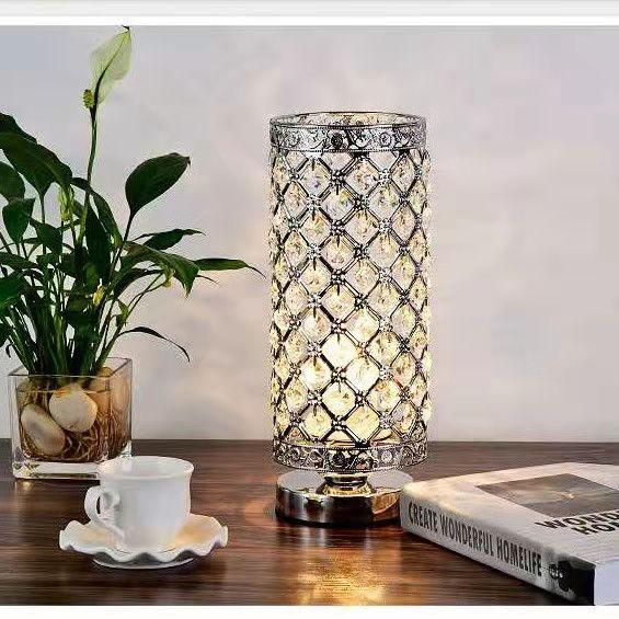 quarto romântico lâmpada de cabeceira quente