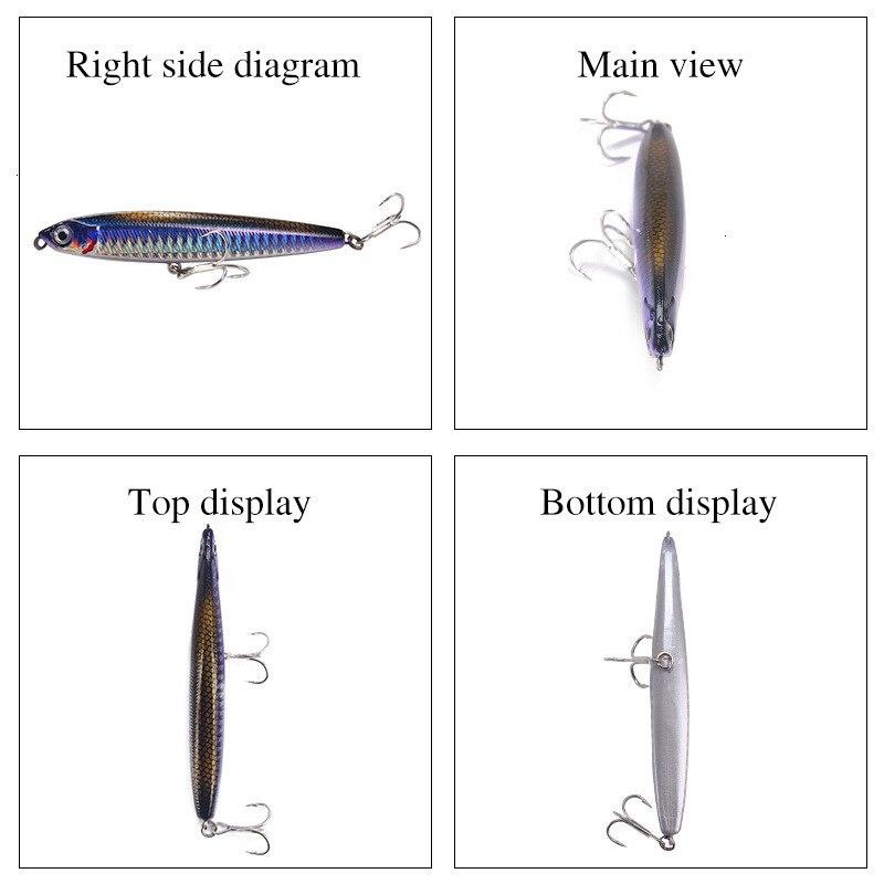 Pencil Sinking Fishing Lure Saltwater   4