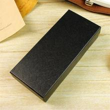 1Pc Wristwatch Packing Box Black Carton for Watch Not Including