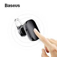 Baseus Mini bezprzewodowa słuchawka do iphone'a X 8 Samsung S9 S8 douszna bezprzewodowa słuchawka Bluetooth słuchawki douszne z mikrofonem