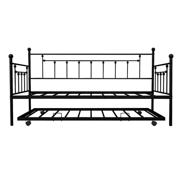Daybed Sofa Steel Bed Frame With Trundle  3