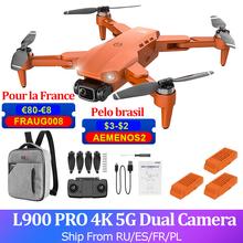GPS L900 PRO 4K RC Dron z kamerą Dron 2-osi FPV 5G Quadcopter bezszczotkowy 1 2KM 28min data data powrotu (zdalnie sterowany Dron helikopter poniżej 250g tanie tanio BEYONDSKY CN (pochodzenie) 1200 meters 4K UHD Mode1 Mode2 4 kanały 7-12y 12 + y Oryginalne pudełko na baterie Instrukcja obsługi
