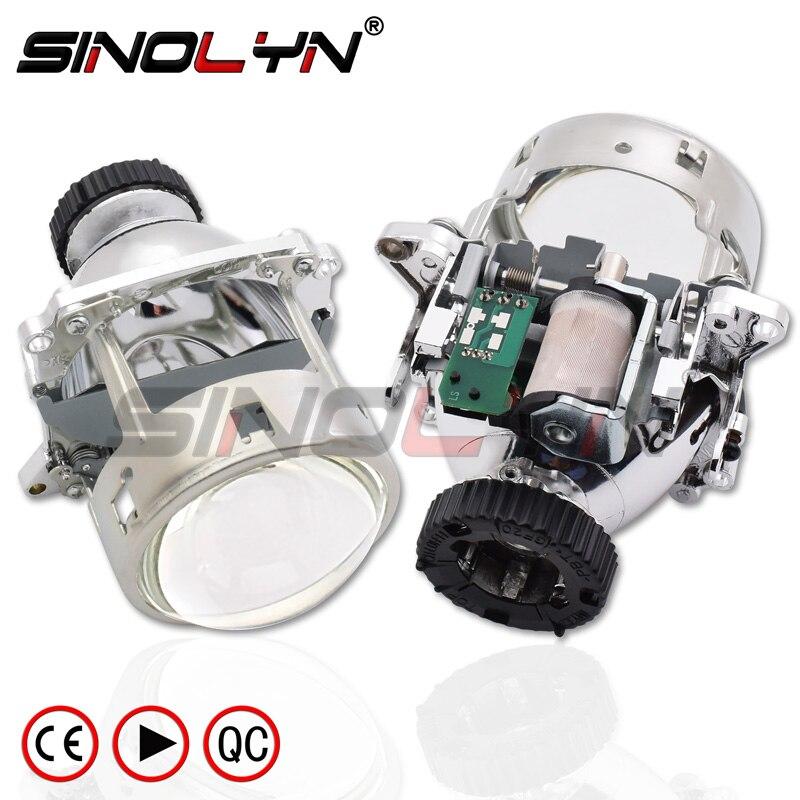 Dla AL soczewki reflektorów Bi-reflektor ksenonowy dla BMW E46 M3 E60 E90 E92/Volvo S40/Benz C200 C220 CL500 CL600/Audi A1 A3 S3 A4 S4