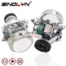 Sinolyn Bi xenon Projector Lens For BMW E46 AL M3 E60 E92 E90 E70/Benz W220 W203 W215/Volvo S40/Audi A1 A4 B7 Headlight Lens