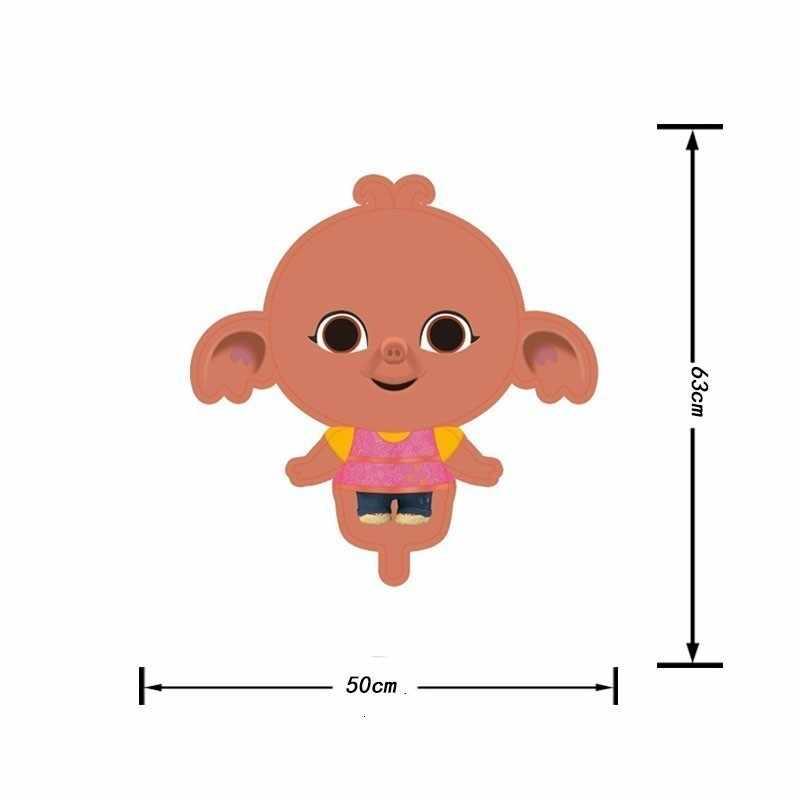 Balony 1 pc Big Bing Bunny Folie Palloncini Decorazione Festa di Compleanno Per Bambini Baby shower del Ragazzo Della Ragazza Del Sesso Doccia Casa Offre giocattoli