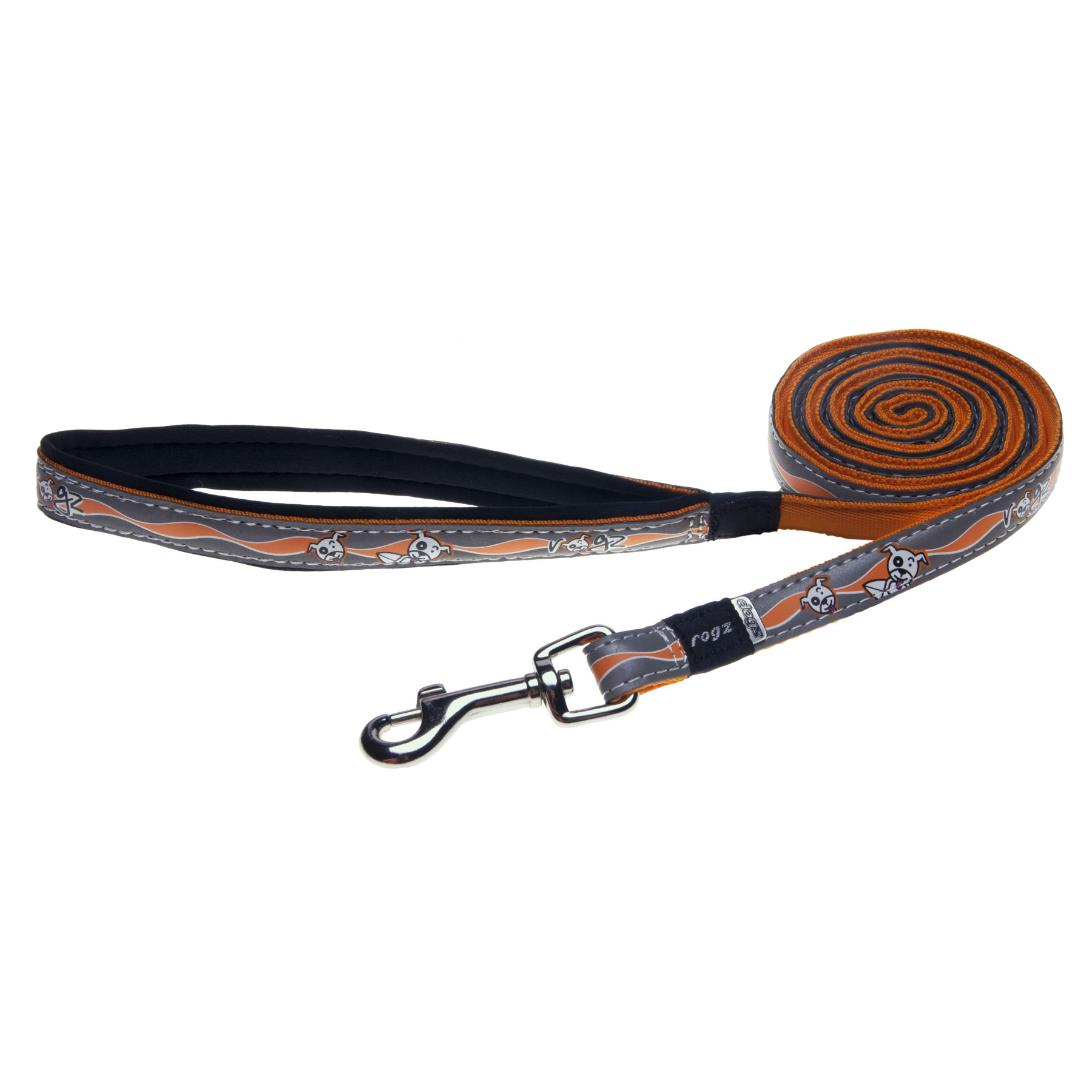 Rogz leash lengthened for medium ...