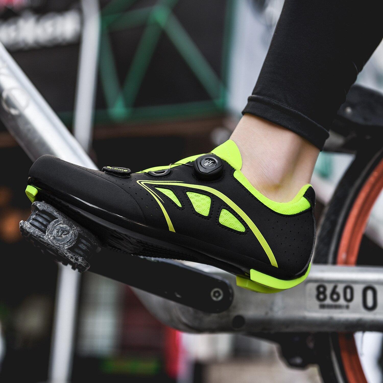 de ciclismo de montanha auto-bloqueio botas de