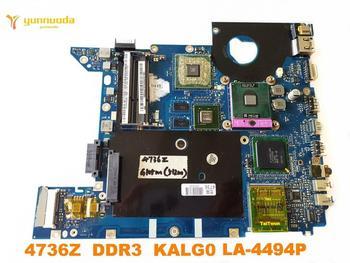 Original for ACER 4736  4736G laptop motherboard  4736Z  DDR3  KALG0  LA-4494P tested good free shipping