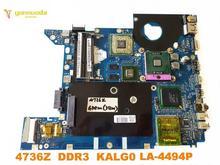 Originele Voor Acer 4736 4736G Laptop Moederbord 4736Z DDR3 KALG0 LA 4494P Getest Goede Gratis Verzending