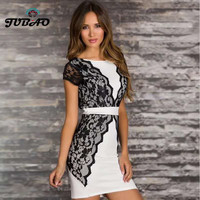 lace lady Sexy dresses new fashion package white red bandage rayon bodycon new fashion wholesale celebrity