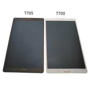 """Image 5 - 8.4 """"لسامسونج غالاكسي تبويب S 8.4 T700 T705 شاشة LCD + شاشة تعمل باللمس محول الأرقام الجمعية لسامسونج غالاكسي تبويب S عرض SM T705"""