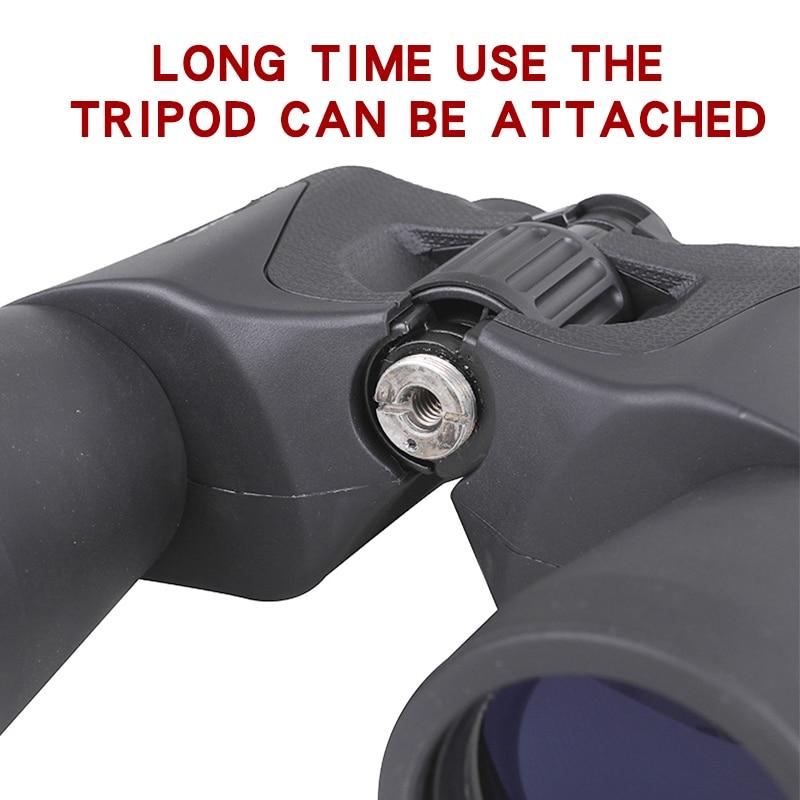 Tools : Wide Angle Powerful binoculars 20x50 BAK4 Zoom Long Range 5000m Professional  Folding Telescope