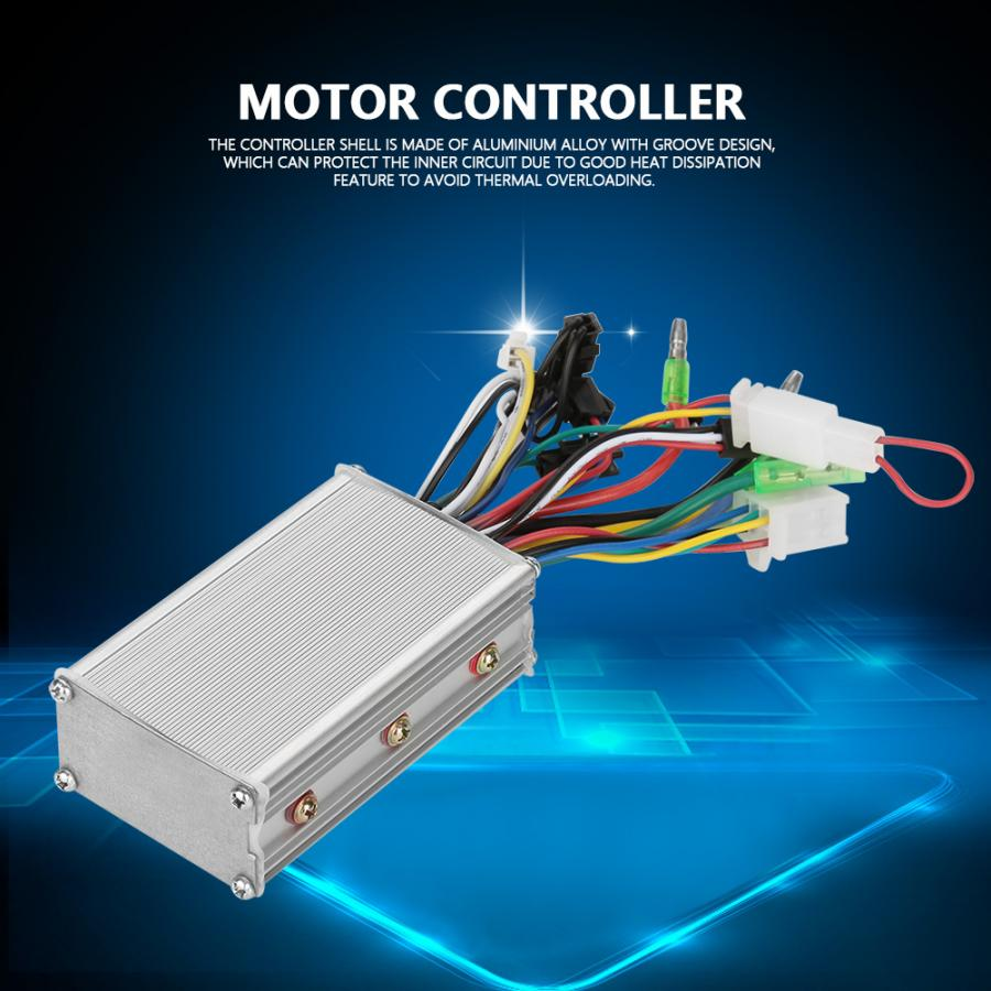 24V/36V/48V 250W/350W ControllerKit Aluminum Electric E-Bike Scooter Motor Speed Sine Controller Electric Bicycle Accessories
