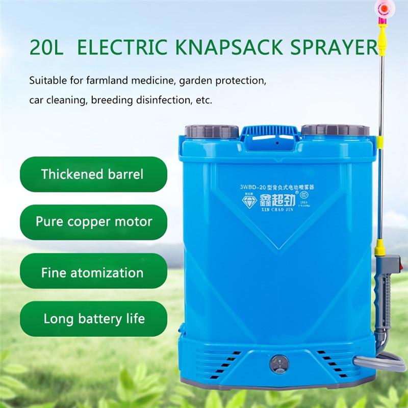 20L 12V Electric Knapsack Sprayer Multi-function Sprayer Farm Garden Agricultural Plant Car With Built-in 10Ah Lithium Battery