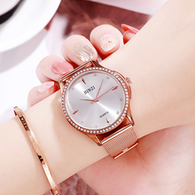 цена Romantic 2019 Women Watches Luxury Ladies Watch Starry Sky Rose Gold Waterproof Female Wristwatch Relogio Feminino Reloj Mujer