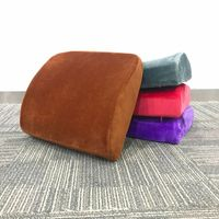Orthopedic Back Pillow Travel for Chair Natural Latex Lumbar Support Massage Protect The Lumbar Spine Relief Waist Pillow