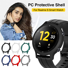 Горячий% 21Защитный чехол для Realme часы S ремешок смарт часы чехол ПК бампер пластик протектор замена часы корпус жесткий рамка