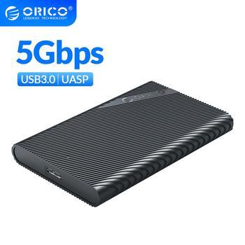 ORICO USB3.0 HDD adaptateur SSD 2.5 pouces boîtier de disque dur externe 5 Gbps boîtier de disque dur avec fonction de veille automatique UASP