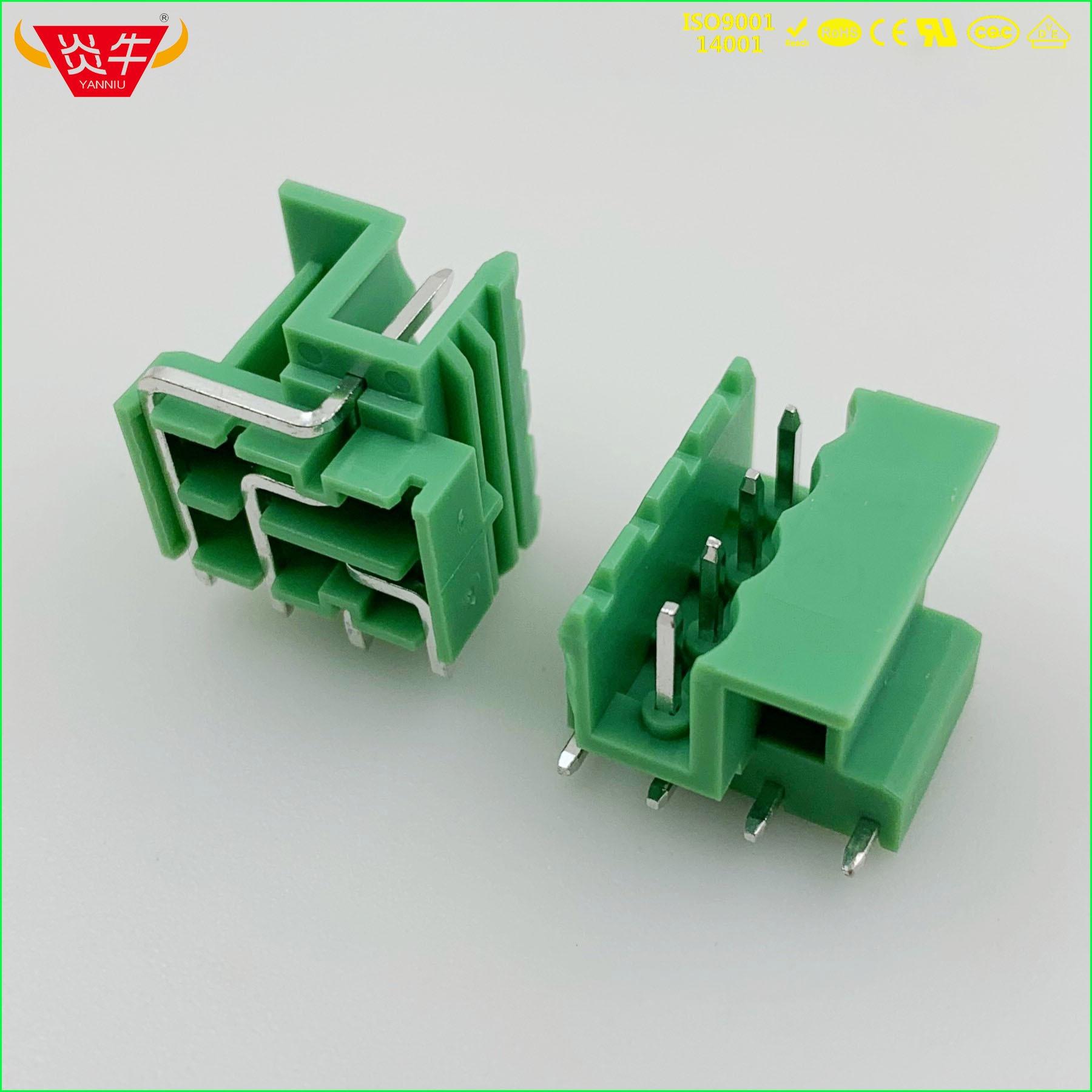 kf2edglf 5 0 2p 3p 4p pcb conector plug in bloco teminal 2edglf 5 0 milimetros