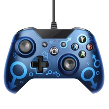 Drop Shipping USB Wired Controller for Xbox One PC Games Controller For Windows Xbox One Joysticks Dual Vibration Gamepad