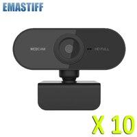 Großhandel HD 1080P Webcam Mini Computer PC Webkamera mit USB Drehbare Kameras für Live Broadcast Video Aufruf Konferenz Arbeit