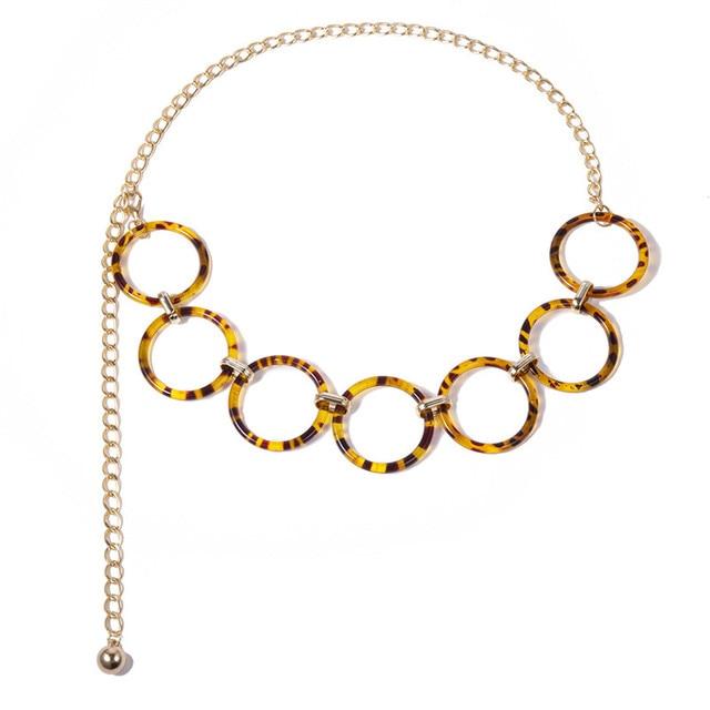Фото женский леопардовый ремень с кисточками украшенный кругом новый цена