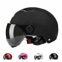 Capacete de bicicleta com óculos de proteção da bicicleta de estrada esportes segurança preto fosco in-mold capacete equitação das mulheres dos homens ciclismo capacete