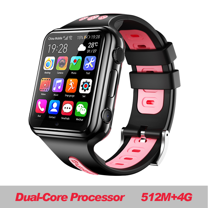 W5 2020 NFC Waterproof 4G Smartphone Watch Downloadable APP MP4 Play AI Smart Voice Iwo12 Smart Watch Men Android Progps Smart image