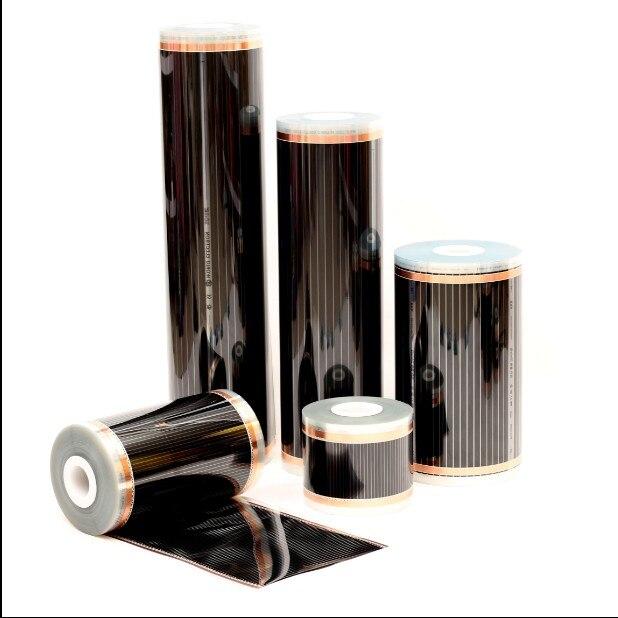 Carbon-Film-Heater Warming-Mat Floor-Heating Electric-Floor Infrared 220V 220W 50cm-Width