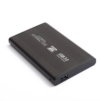 Portable Usb3.0 Mobile Hard Drive External Hdd Enclosure Usb Sata Hard Drive Black Caddy Case For Laptop Pc фото