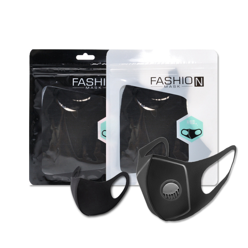 Facial Protective Cover Masks Mask Black Washable Face Mask Reusable Thin Health Dustproof Mouth Mask
