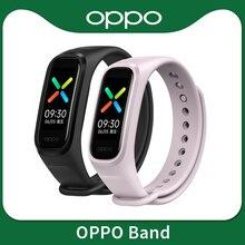 Oppo Band Smart Armband 2 Kleur Amoled Screen Smartband Fitness Traker Bluetooth Sport Waterdichte Slimme Band