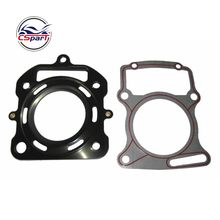 67Mm Silinder Gasket Kit Air Cooled 250CC Zongshen Shineray Bazan Taotao Lubang Kotoran Sepeda ATV Quad(China)