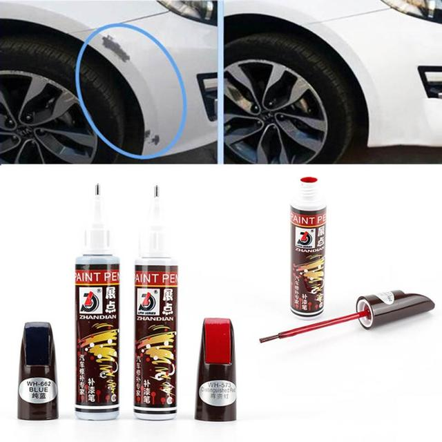 Painting Repair Remover Paint Fix TouchUp Pen Wheels Tires Parts Tire Accessories Universal Car Vehicle Scratch Mend 1