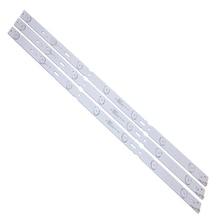 (Новый комплект) 3 шт. 7 светодиодный 625 мм Светодиодная лента для подсветки для LM41 00100A GRUNDIG 32CLE6525BG
