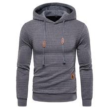 2020 New Autumn Winter Fashion Hoodied Mens Sweatshirts Plaid Cotton Hoody Hoodies For Men Sportswear Casual Hoodie Men