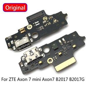 Image 1 - מקורי IC B2017 עבור ZTE Axon 7 מיני Axon7 B2017G Axonmini Dock USB טעינת נמל לוח להגמיש כבל מחבר חלקי