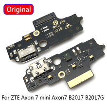 Orijinal IC B2017 için ZTE Axon 7 mini Axon7 B2017G Axonmini Dock USB şarj portu Flex kablo bağlantı parçaları