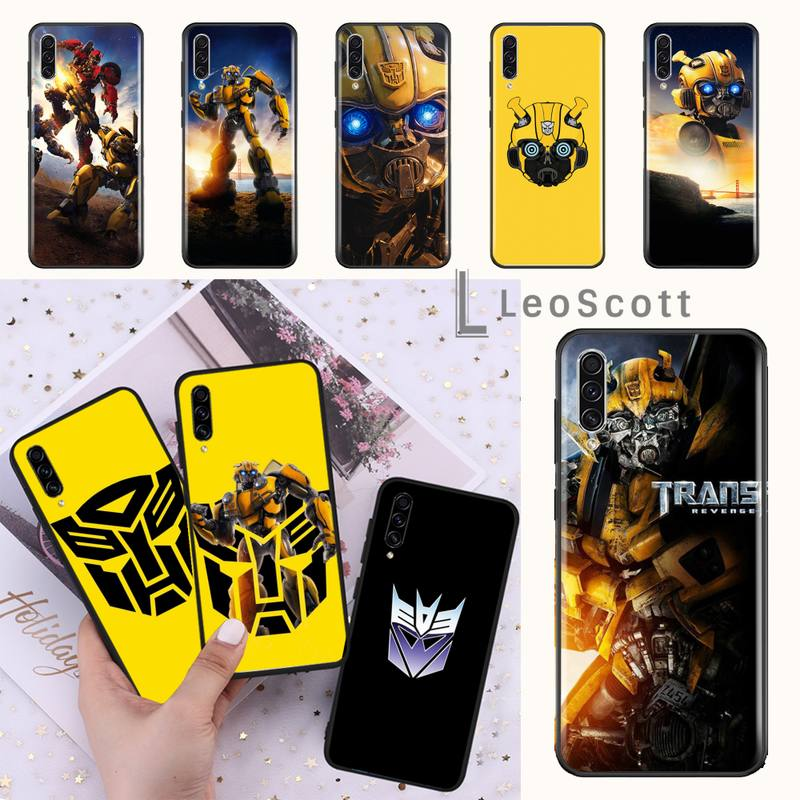 Transformers Bumblebee Phone Case For Samsung A20 A30 30s A40 A7 2018 J2 J7 prime J4 Plus S5 Note 9 10 Plus