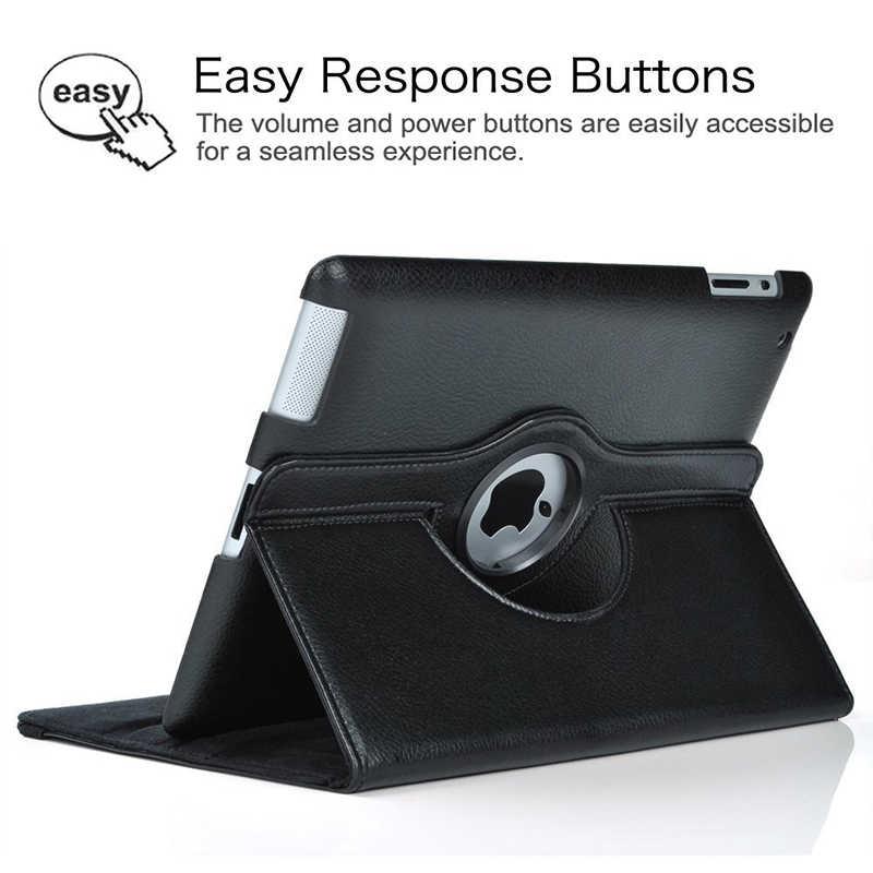 Вращающийся на 360 градусов чехол-подставка для iPad Mini 1 2 3 чехол из искусственной кожи умный флип-чехол для Funda iPad Mini чехол для сна/пробуждения