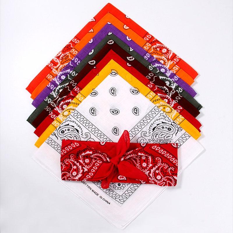 Unisex bandane na prostem s tiskanim kvadratnim šalom maska za - Kampiranje in pohodništvo - Fotografija 3