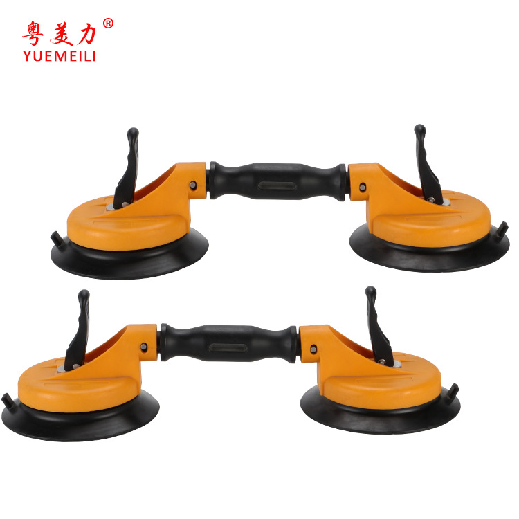Manufacturers Direct Selling Strong Arc 2 Claw Sucker Glass Sucker Stone Material Tile Suction Lift Lifting Handling Jack